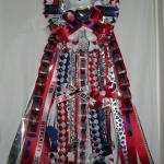Wimberley Texans Triple Homecoming Mum